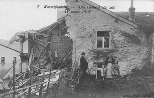 Warmifontaine effondrement de mars 1912